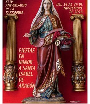 CARTEL FIESTAS SANTA ISABEL 2014