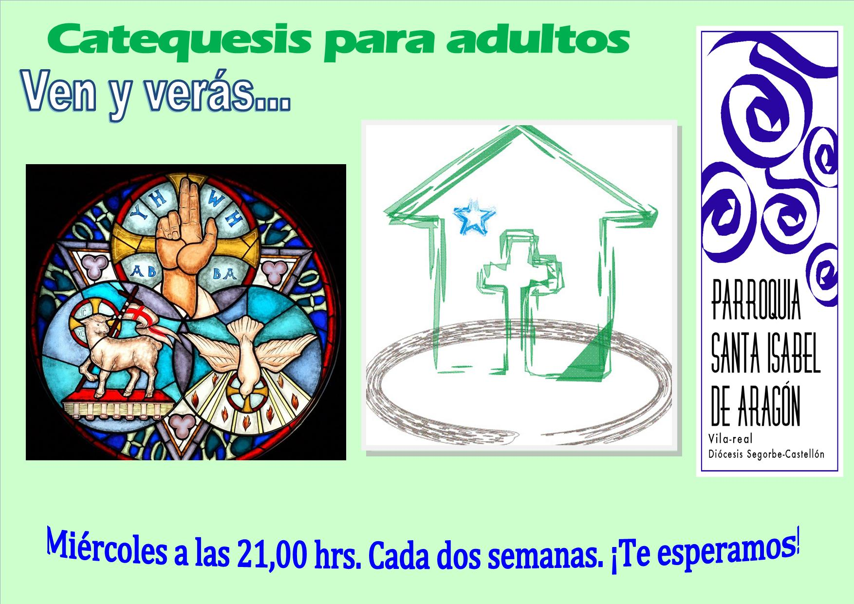 cartel catequesis de adultos 2014