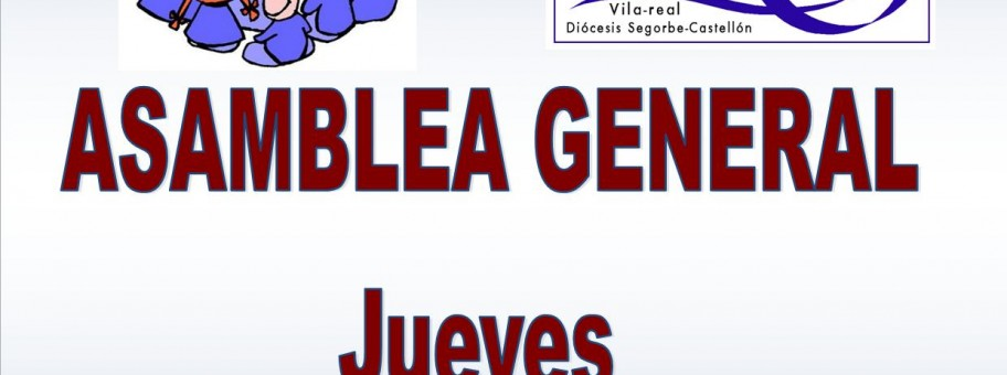 ASAMBLEA GENERAL COFRADIA SANTA ISABEL 2015