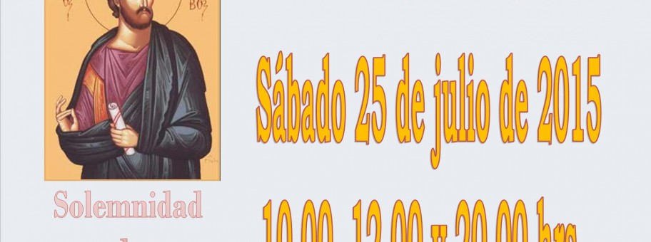 SANTIAGO APOSTOL 2015